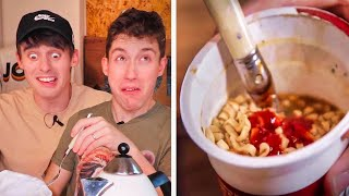 Download Trying BRITISH ″Pot Noodles″... 😭(help) Video