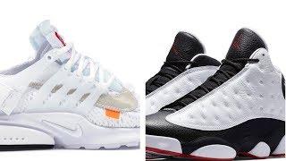 Download Off-White x Nike ″White″ Presto, ″HGG″ JORDAN 13, and adidas POD 3.1 SNEAKERS on Heat Check Video