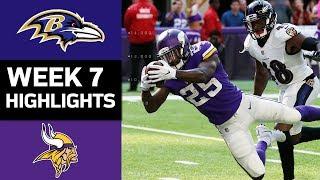 Download Ravens vs. Vikings | NFL Week 7 Game Highlights Video