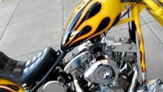 Download Titan Von Zipper Old School Bobber Shovel Head Kick Start Video