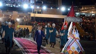 Download Открытие II Всемирных Игр Кочевников на Иссык-Куле, Кыргызстан / НТС / 03.09.2016 Video