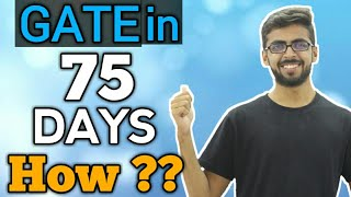 Download How I Cracked GATE in 75 Days | Strategy to Crack GATE in 75 Days | qualify gate exam | Well academy Video