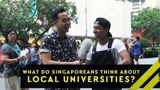 Download What Do Singaporeans Think About Our Local Universities? | Word On The Street Video