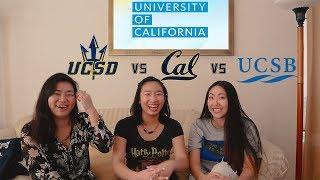 Download UC Comparison: UCB vs UCSD vs UCSB! Video