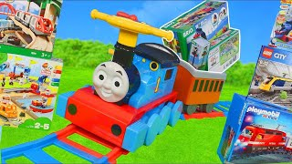 Download Thomas and Friends Train Toys: Brio Wooden Railway & Lego Duplo Trains Toy Vehicles for Kids Video