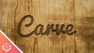 Download Inkscape Tutorial: Carved Wood Effect Video