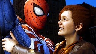 Download Spider-Man Saves Mary Jane From Falling   Spider Man Ps4 Walkthrough Part 15 Video