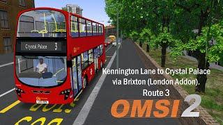 Omsi 2   bus simulator 2  LINE: 106 MAPS: Ebstein  Free