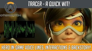 Download Overwatch - Tracer's Quick Wits! (Hero Voice Lines and Interactions) | Hammeh Video