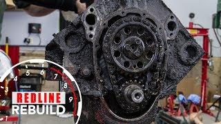 Download Chevy Small-Block V8 Engine Rebuild Time Lapse | Redline Rebuild #1 Video