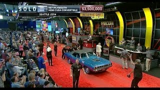 Download MECUM SOLD $3.5 Million - 1971 Plymouth Hemi Cuda Convertible Video