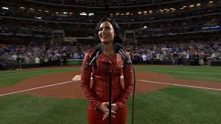 Download Demi Lovato sings the national anthem Video
