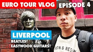 Download What It's Like Being A Touring Musician - Europe Ep.4: Liverpool - Beatles & Eastwood Guitars! Video