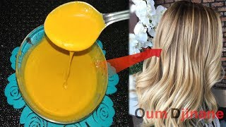 Download صبغة الكركم لعشاق الشعر الاشقر الذهبي اللامع 100&100 /وصفة رهيبة بلون تحفة وجذاب جدا👍 Video