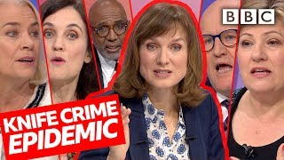 Download Is knife crime out of control? | Question Time - BBC Video