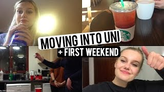 Download MOVING INTO UNI + FIRST WEEKEND! CaitlinRoseVlogs Video