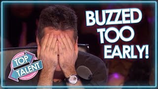 Download Judges BUZZ TOO EARLY On Britain's Got Talent! | Top Talent Video