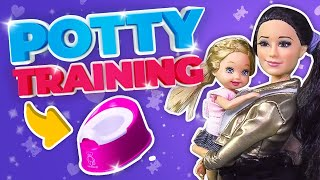 Download Barbie - Potty Training with the Twins | Ep.50 Video