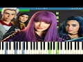 Disney's Descendants 2 - Ways To Be Wicked - Piano Tutorial