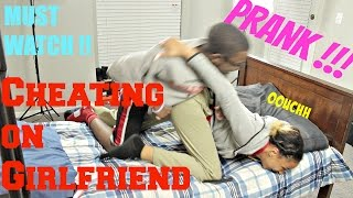 Download Cheating On Girlfriend Prank Gets VIOLENT! (My First Prank) Video