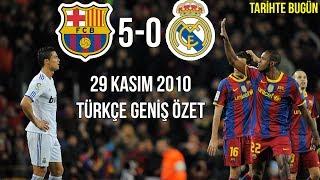 Download TARİHTE BUGÜN: Barcelona 5-0 Real Madrid | Türkçe Spiker | Geniş Özet 2010 • HD Video