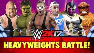 Download WWE 2k17 Heavyweights Battle Royal with Marvel Avengers & Batman Super Heroes Video