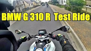 Download BMW G310R test ride. Video