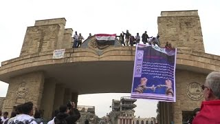 Download Students return to university in Mosul after IS takeover Video
