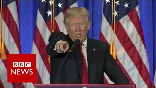 Download Donald Trump shuts down CNN reporter - BBC News Video