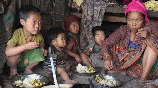 Download They are poor but happier than rich people ll Cooking organic curry of potatoes,potatoes recipe Video