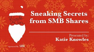 Download KringleCon - Katie Knowles, Sneaking Secrets from SMB Shares Video