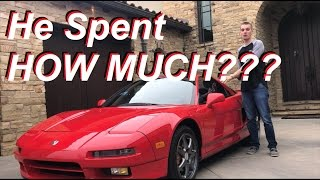Download Was it a Mistake Buying the Cheapest Acura NSX in the USA??? Video