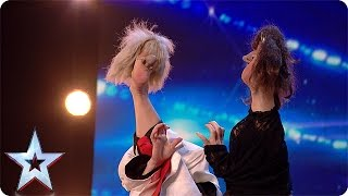 Download Preview: Anne Klinge sweeps the Judges off their feet Video