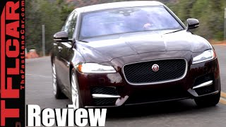 Download 2016 Jaguar XF & XF S First Drive Review: The Un-German Mid-Sized Luxury Sedan Video
