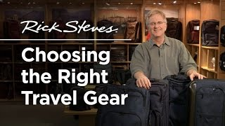 Download Rick Steves: Choosing the Right Travel Gear Video