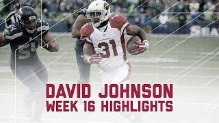 Download David Johnson's Monster 3 TD Game vs. Rival Seahawks | NFL Week 16 Player Highlights Video