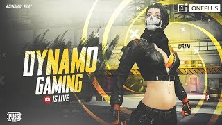 Download PUBG MOBILE LIVE WITH DYNAMO | HYDRA SQUAD CHICKEN DINNER | SEASON 8 NEW UPDATE Video