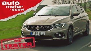 Download Fiat Tipo 1.4 T-Jet : Ist Geiz wirklich geil? - Die Tester | auto motor und sport Video