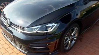 Download VW GOLF 7 FACELIFT R LINE 2017 Video