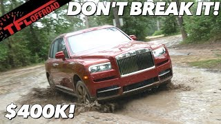 Download We Plunge The $400,000 Rolls-Royce Cullinan Into The Mud - And Hope We Don't Break It! Video