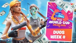 Download Fortnite World Cup Qualifiers LIVE Gameplay! (Fortnite Battle Royale) Video