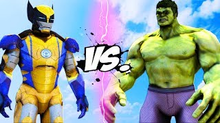 Download THE HULK VS IRON MAN - WOLVERINE Video