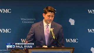 Download 'It's been the honor of my life': Paul Ryan thanks constituents from 1st Congressional District Video