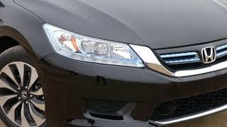 Download 2014 Honda Accord Hybrid Up Close and Personal Review Video