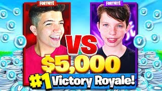 Download 1V1 vs MY LITTLE BROTHER CHALLENGE in FORTNITE: BATTLE ROYALE! Video