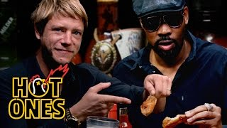 Download RZA and Paul Banks Tag Team Spicy Wings | Hot Ones Video