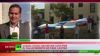 Download Varios países decretan luto por el fallecimiento de Fidel Castro Video