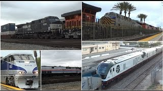 Download [HD] Fullerton Railroad Days 2017 - Horn Shows, ATSF 3751, Siemens Chargers, Foreign Power, & More! Video