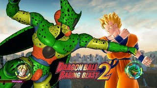 Download Dragon Ball: Raging Blast 2 Imperfect Cell vs Gohan of the Future Video