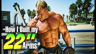Download JAY CUTLER-HOW I BUILT MY 22 IN ARMS Video